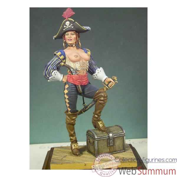 Figurine - Kit a peindre Fille pirate - G-026