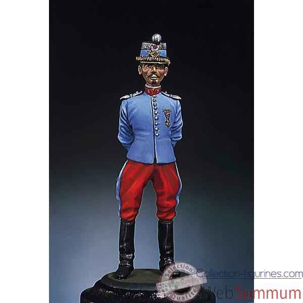 Figurine - Kit a peindre Chasseur  France  - S3-F5