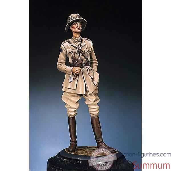 Figurine - Kit a peindre Major  G.-B. - S3-F8