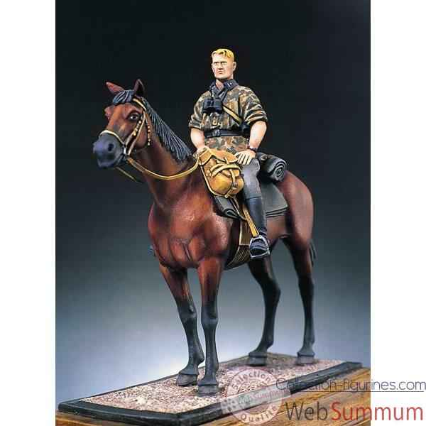 Figurine - Kit a peindre Sergent a cheval - S5-F12