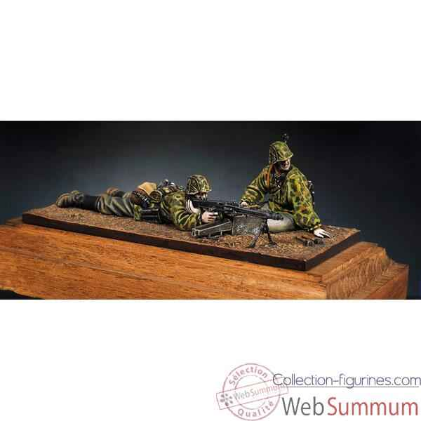Figurine - Kit a peindre Mitrailleurs MG-42  Waffen-SS - S5-S3