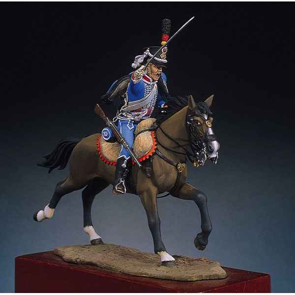 Video Figurine - Kit a peindre Hussard 1 - S7-F12