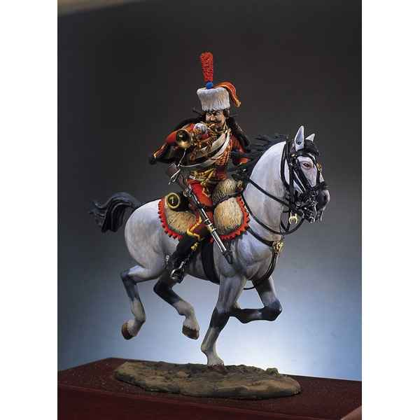Figurine - Kit a peindre Trompette hussards - S7-F14