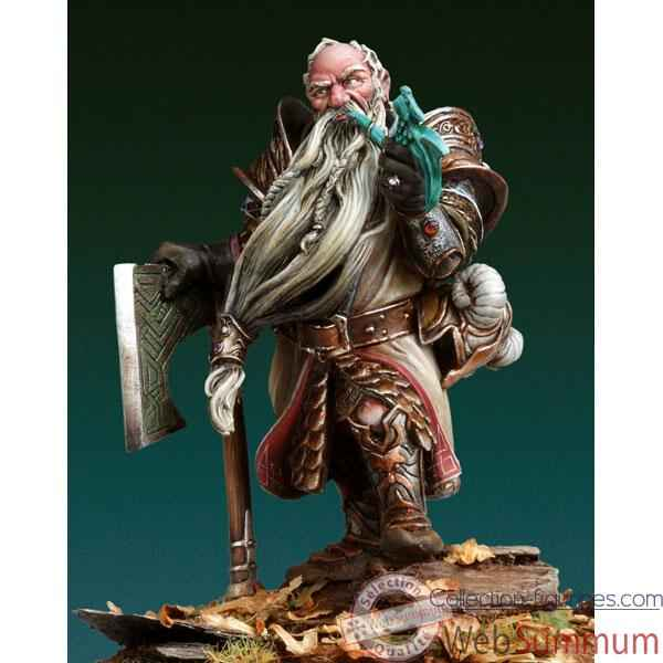 Video Figurine - Kit a peindre Drunegar Runekeeper - WS-03