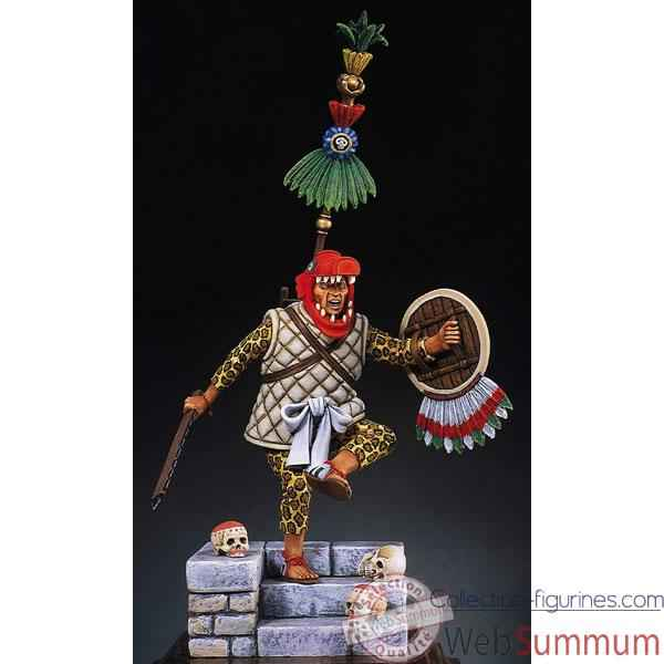 Figurine - Capitaine azteque en 1521 - S8-F5
