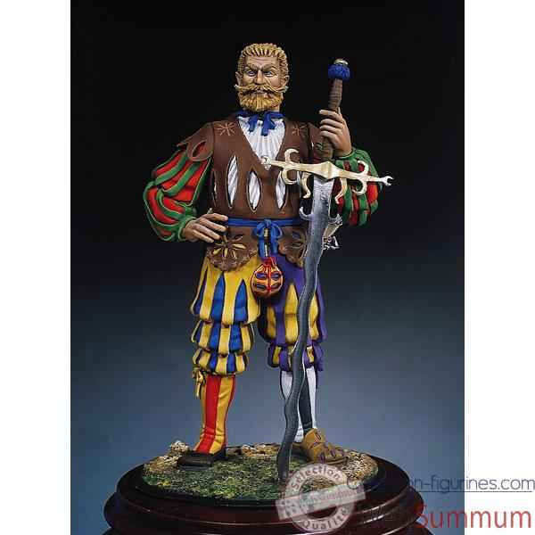 Video Figurine - Kit a peindre Doppelsoldner en 1520 - S8-F8