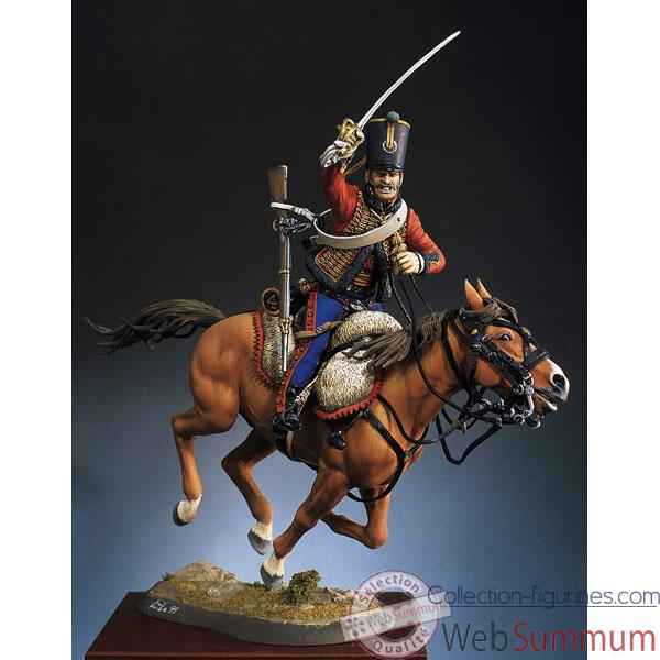 Video Figurine - Hussard francais en 1813 - S8-F24