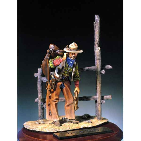 Figurine - Kit a peindre Cow-boy - S4-F7