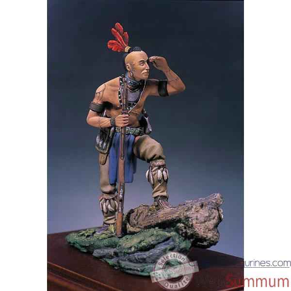 Video Figurine - Kit a peindre Guerrier Mohawk - S4-F17