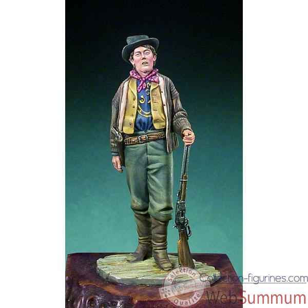Figurine - Kit a peindre Billy the Kid  1880 - S4-F32