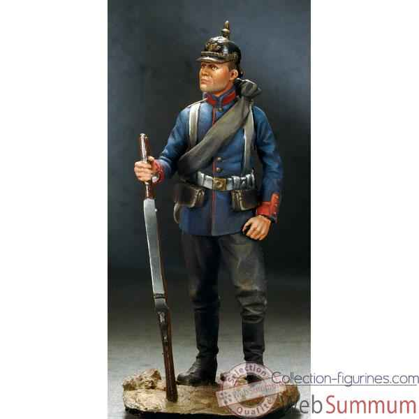 Video Figurine - Kit a peindre Fantassin Prussien en 1870 - SG-F113