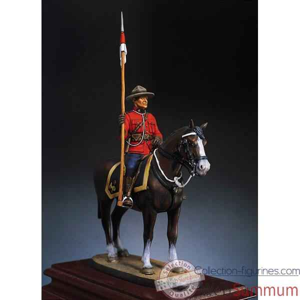 Figurine - Kit a peindre Police montee canadienne en 1970 - SG-F021