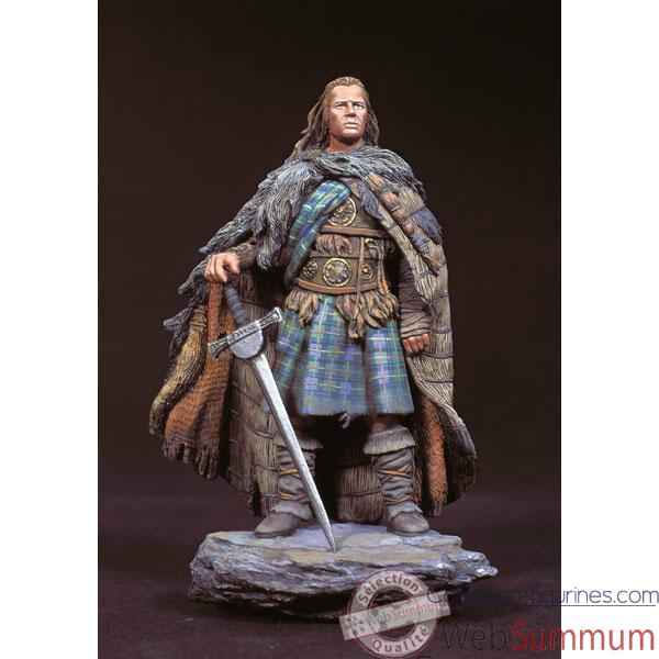 Figurine - Kit a peindre Highlander,  Clan McLeod en 1536 - SG-F076