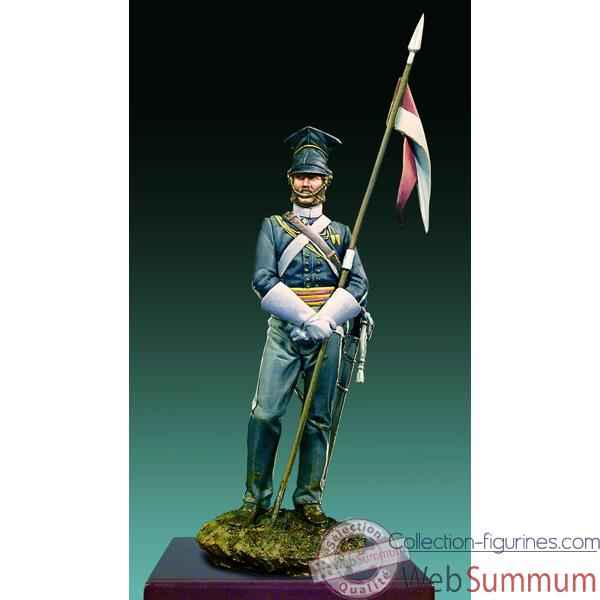 Figurine - Kit a peindre Lancier du 17e regiment de Crimee en 1854 - S13-F01