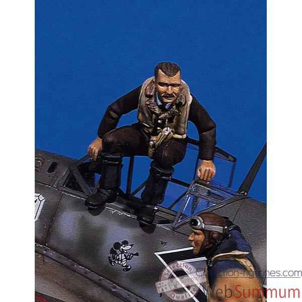 Figurine - Kit a peindre Ace allemand I  Adolf Galland  - SW-01