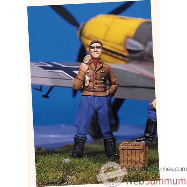 Figurine - Kit a peindre Ace allemand II  Marseille - SW-02