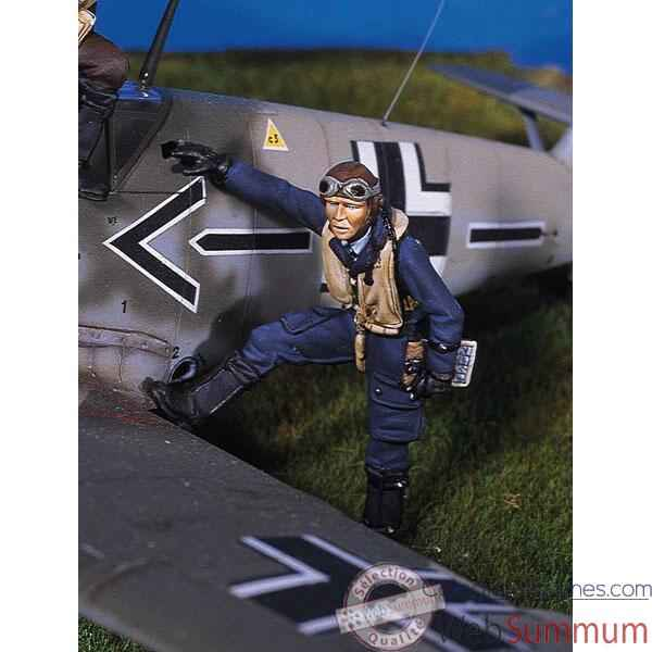 Figurine - Kit a peindre Pilote de chasse allemand - SW-03