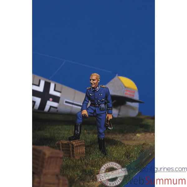Figurine - Kit a peindre Pilote allemand au repos I - SW-05