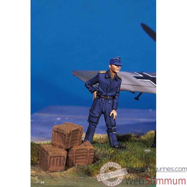 Figurine - Kit a peindre Pilote allemand au repos II - SW-06