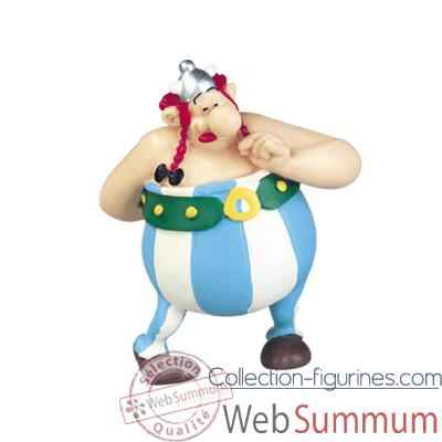 Video Figurine Obelix amoureux -60546