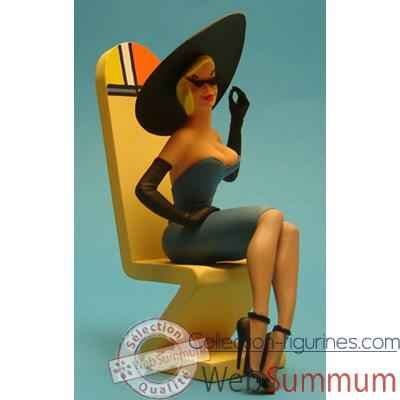 Figurine Pin Up Marlene - PU07