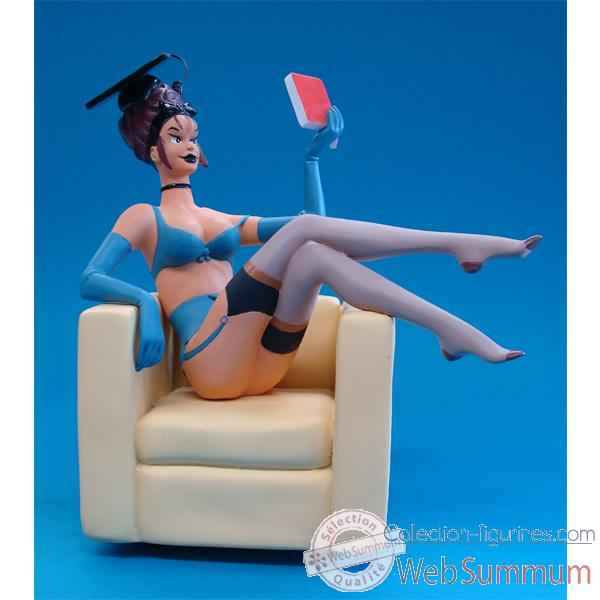 Figurine Pin Up Etudiante -PU12