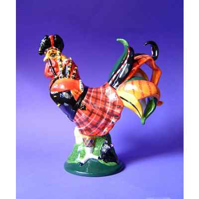 Video Figurine Coq - Poultry in Motion - Highland Rooster - PM16282
