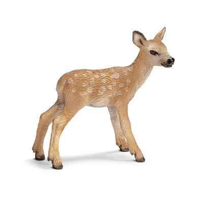 Figurine Schleich Animaux Europe Cerf rouge faon -14629