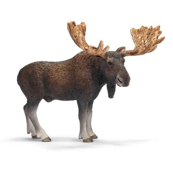 figurine schleich animaux europe elan male de figurine