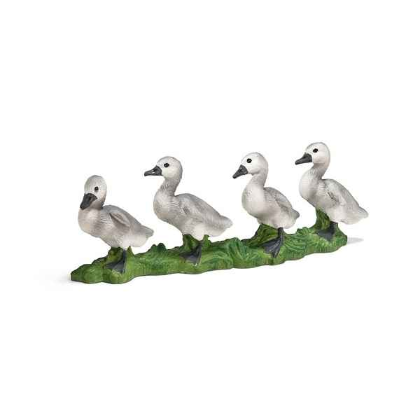 figurine schleich animaux de la ferme cygneau 13657 de figurine schleich. Black Bedroom Furniture Sets. Home Design Ideas