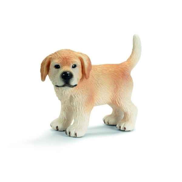 Figurine Chiot Golden Retriever debout Schleich -16378
