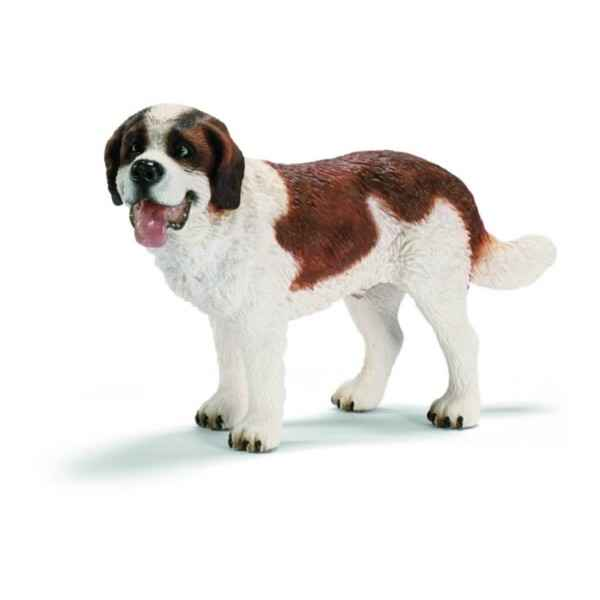 Video Figurine Saint-Bernard male Schleich -16379