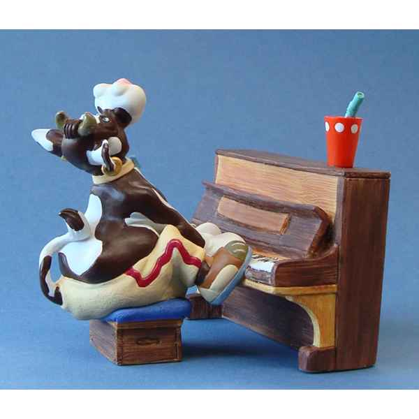 Figurine So Vache Jazz Pianio -SOV07