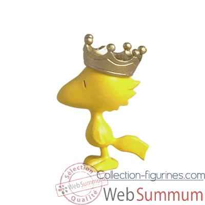 Figurine Woodstock couronne -62801