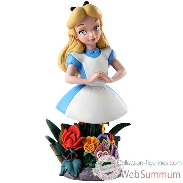 Alice bust le 3000 grand jester studios Figurines Disney Collection -4038503