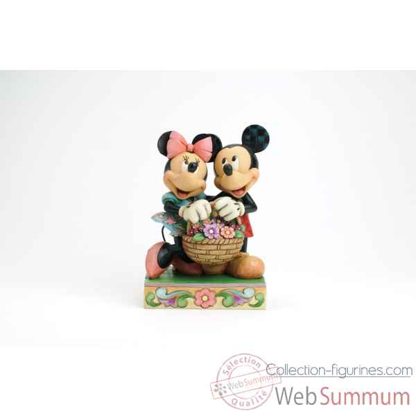 Figurine disney collection collection figurines - Mickey minnie amoureux ...