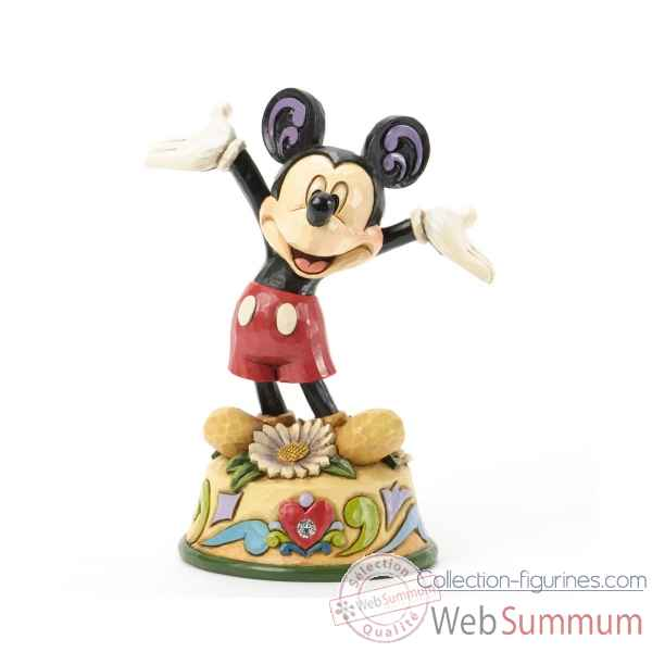 April mickey Figurines Disney Collection -4033961