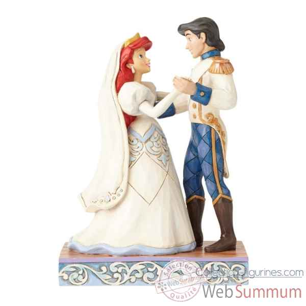 Statuette Ariel et eric Figurines Disney Collection -4056749