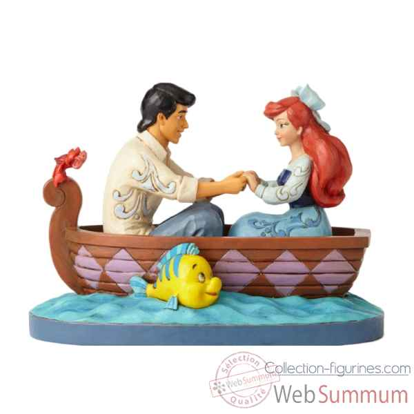 Statuette Ariel et prince eric Figurines Disney Collection -4055414