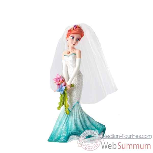 Statuette Ariel mariee Figurines Disney Collection -4050707