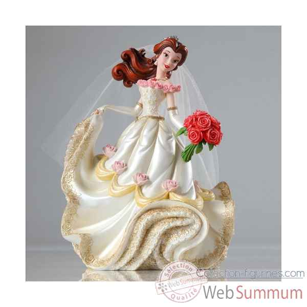 Belle en mariee Figurines Disney Collection -4045444