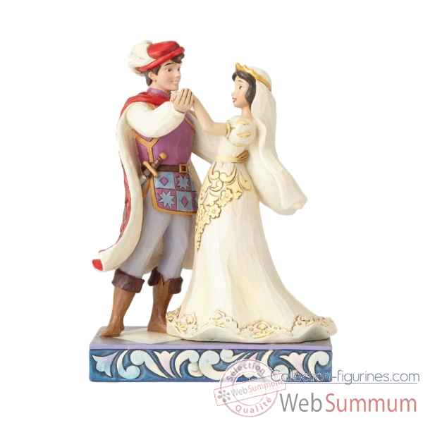 Statuette Blanche neige et son prince Figurines Disney Collection -4056747