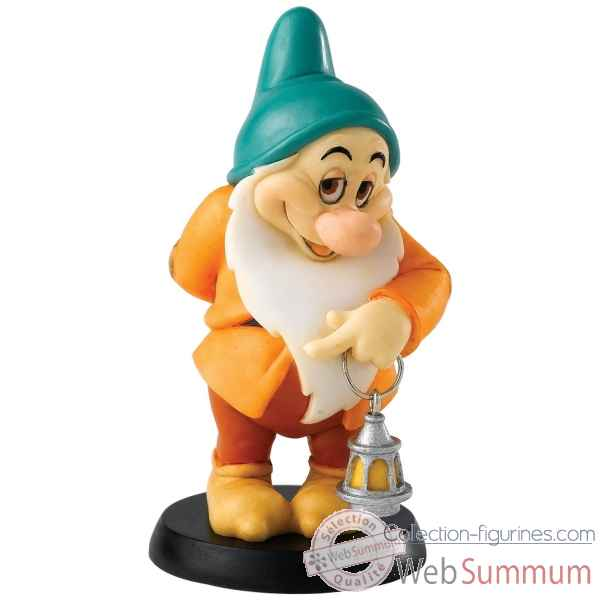 Blushing dwarf (bashful) enchanting dis Figurines Disney Collection -A25975