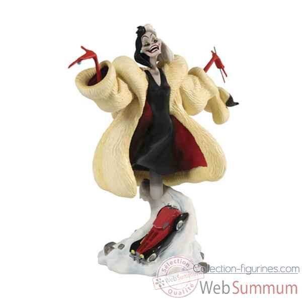 Buste disney grand jester cruella devil  -4020538