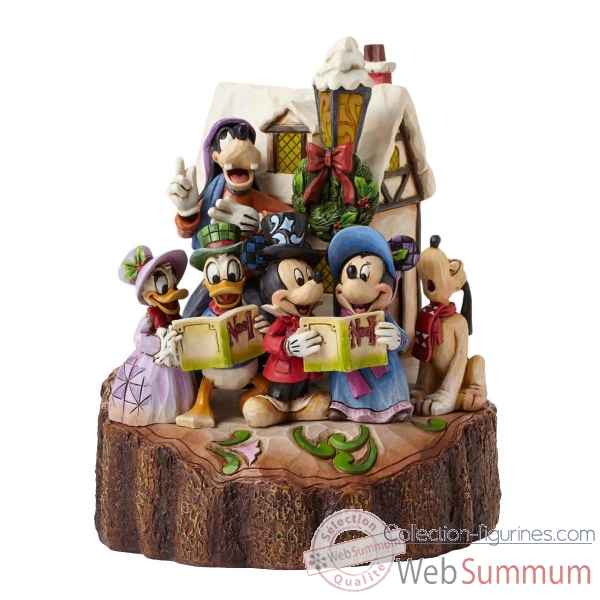 Statuette Carved by heart caroling Figurines Disney Collection -4046025