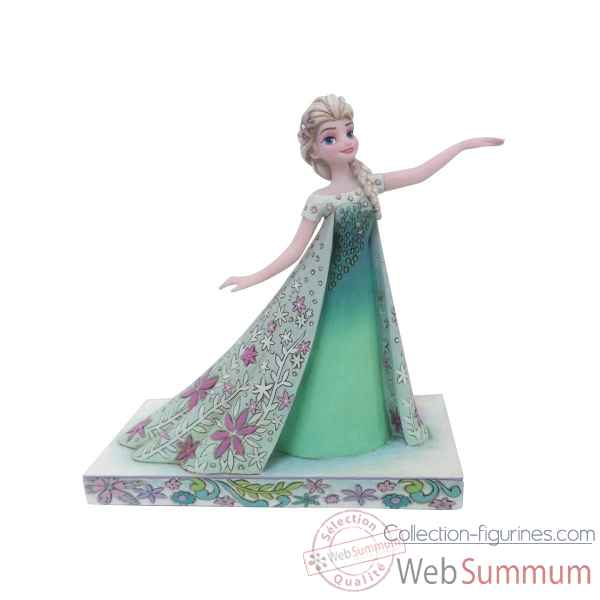 Statuette Celebration du printemps elsa Figurines Disney Collection -4050881
