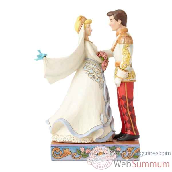 Statuette Cendrillon et le prince Figurines Disney Collection -4056748