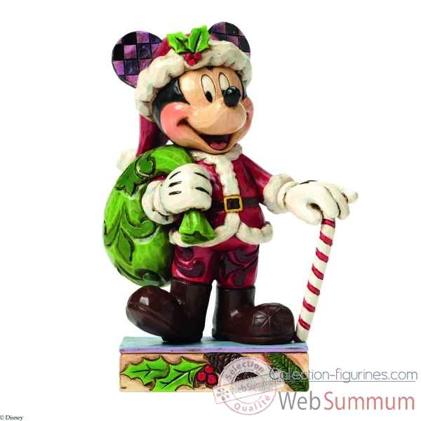 Statuette Christmas mickey Figurines Disney Collection -4046014