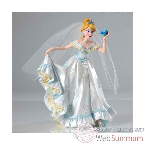 Cendrillon en mariee Figurines Disney Collection -4045443
