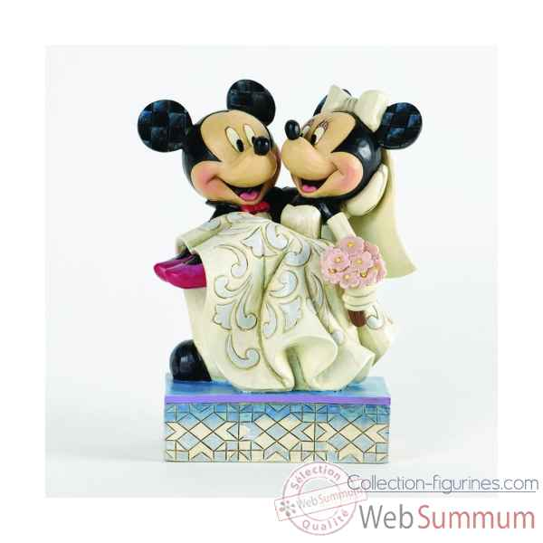 Congratulations mickey & minnie mouse Figurines Disney Collection -4033282
